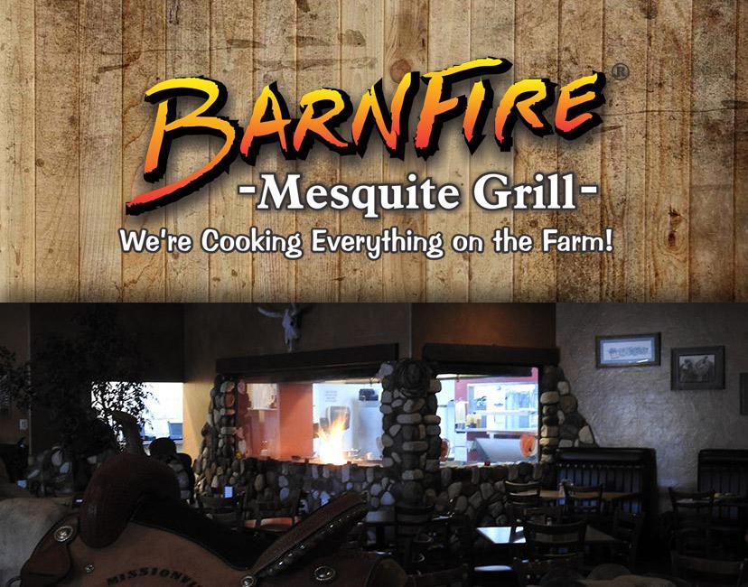 Barnfire Mesquite Grill