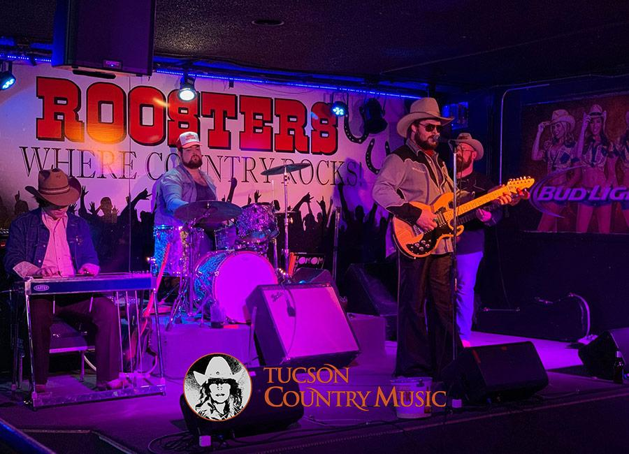 The Reeves Brothers Band at Roosters Country